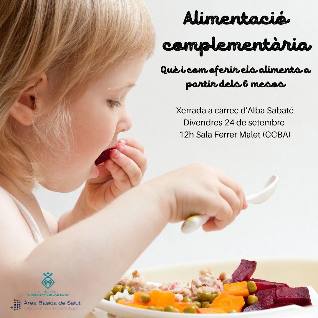 Xerrada sobre l'alimentació complementària