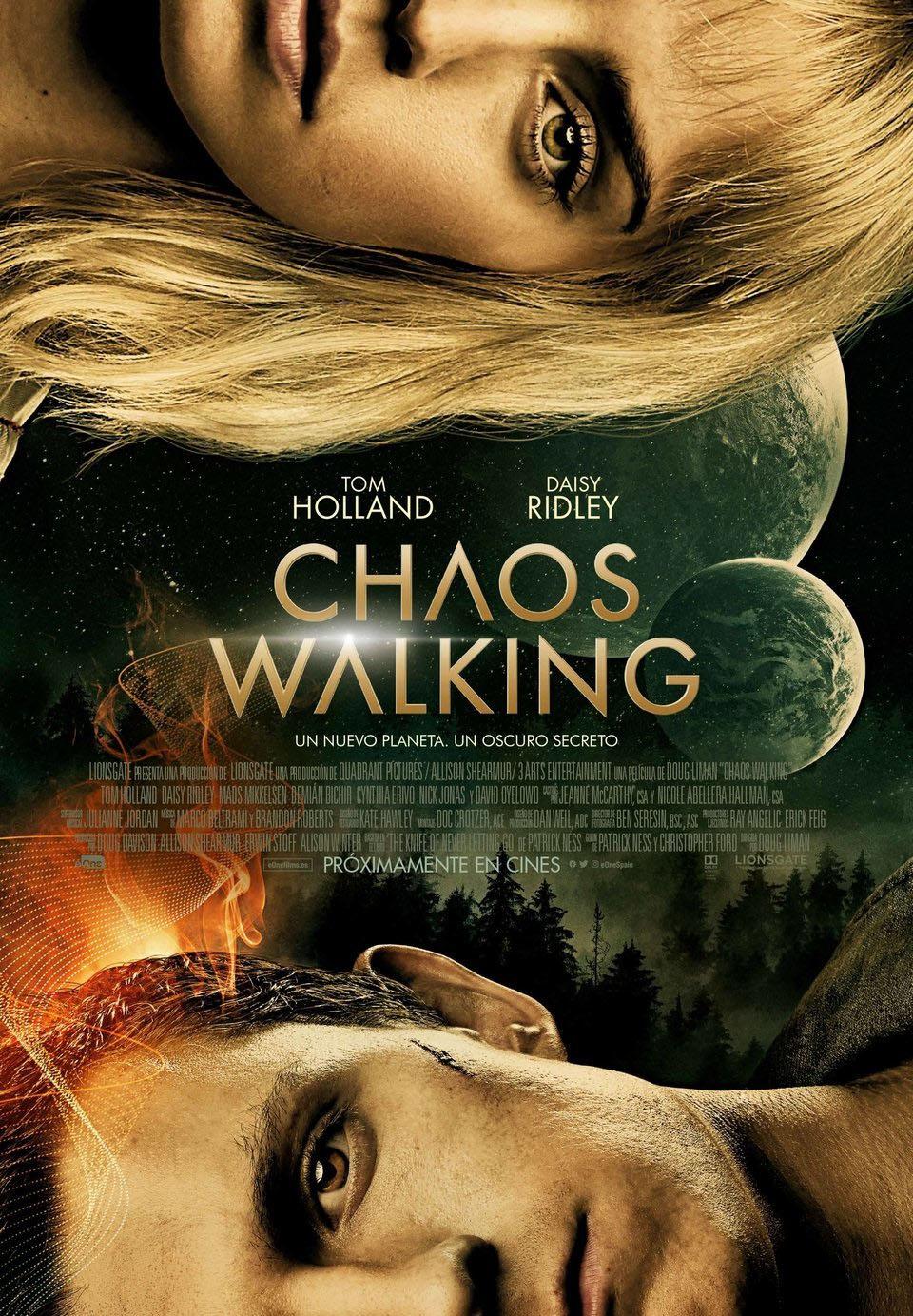 Cinema: CHAOS WALKING / 29-05-2021, a les 18 h - Teatre Auditori de l'Hospitalet de l'Infant