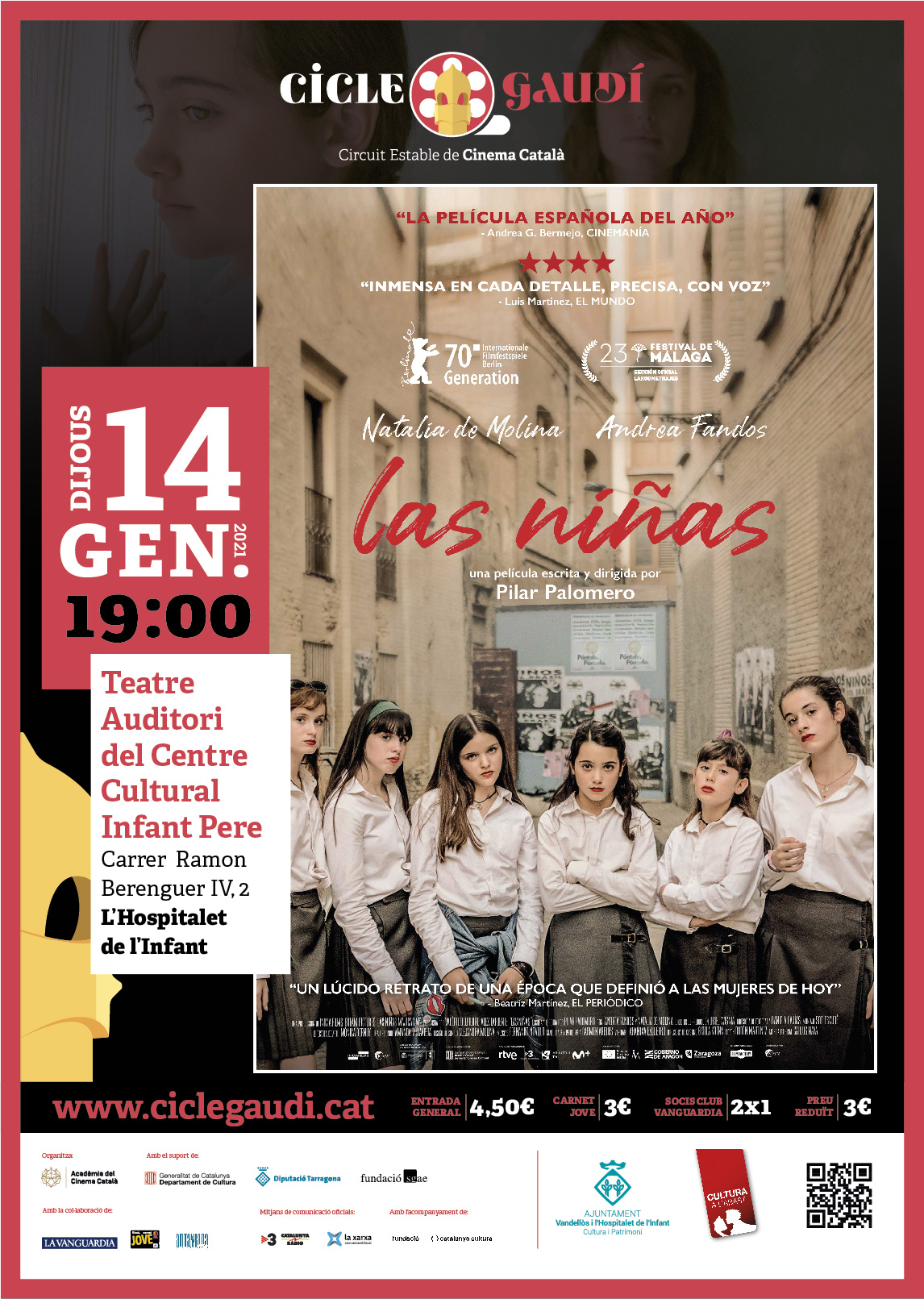 Cinema Cicle Gaudí: LAS NIÑAS