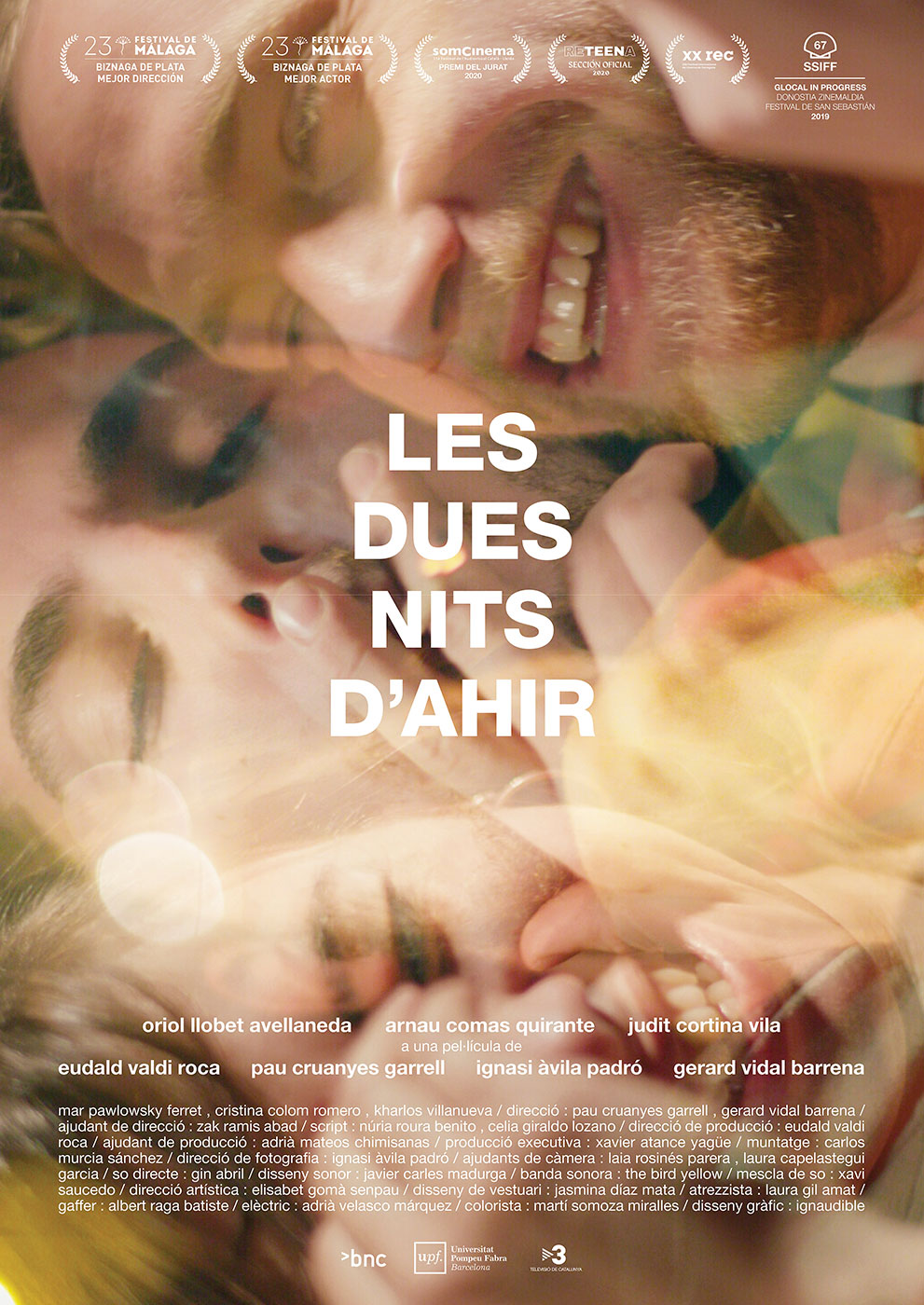 Cinema Cicle Gaudí: Les dues nits d'ahir / 21-10-2021, a les 19 h, a l'Hospitalet de l'Infant