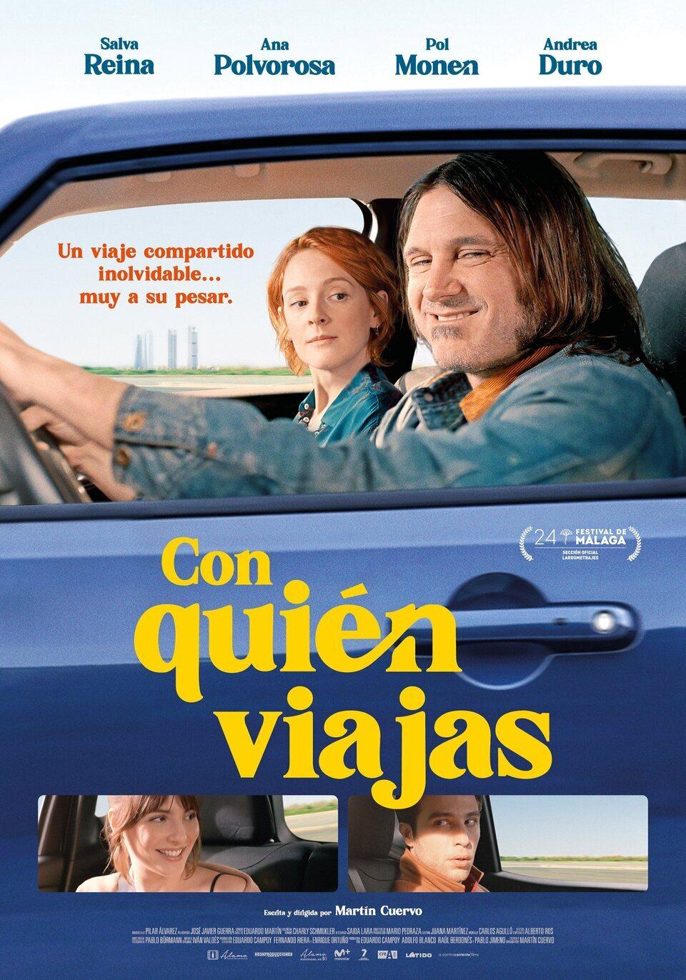 Cinema: Con quién viajas / 16-10-2021, a les 18 h, a Vandellòs