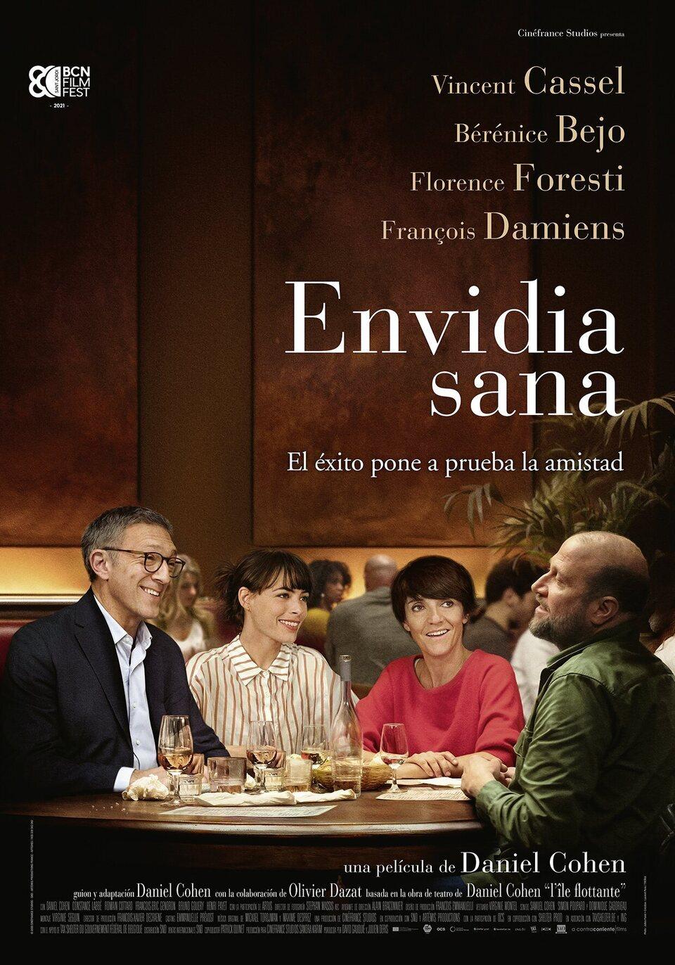 Cinema d'estiu: Envidia sana / 09-08-2021, a les 22 h, a Vandellòs