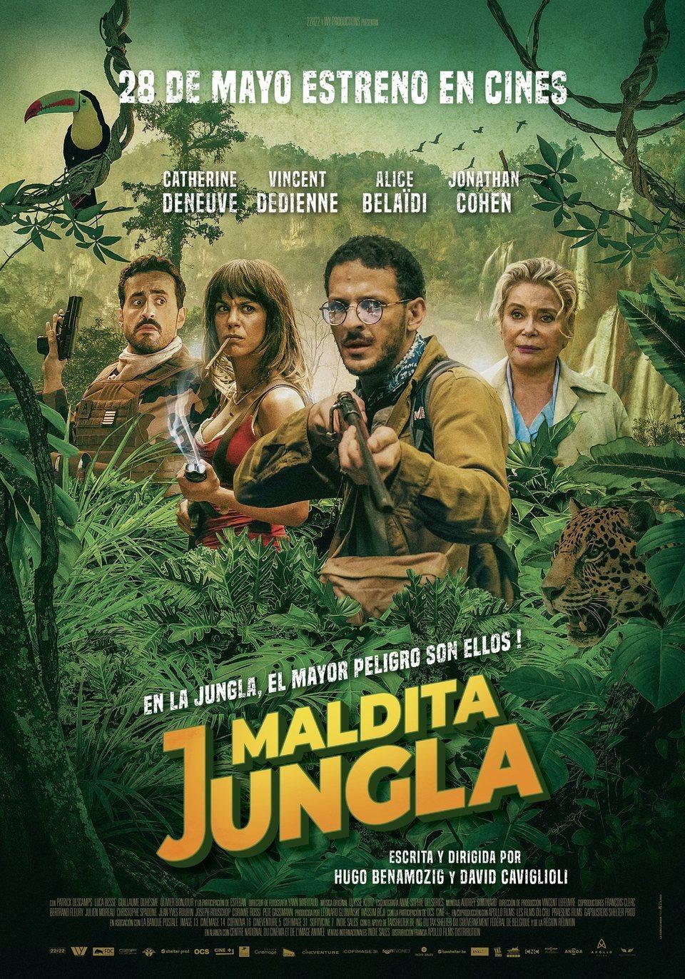Cinema d'estiu: MALDITA JUNGLA / 05-07-2021, a les 22 h, a Vandellòs