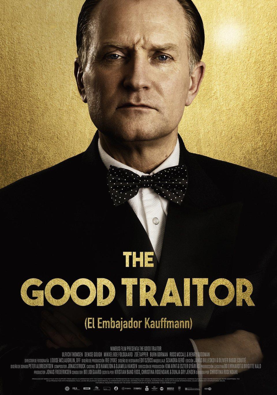 Cinema d'estiu: The good traitor (El embajador Kauffmann) / 02-08-2021, a les 22 h, a Vandellòs