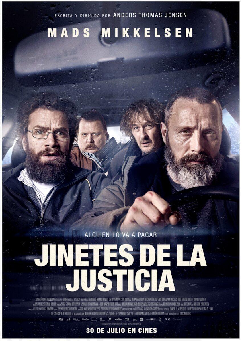 Cinema: Jinetes de la justicia / 19-09-2021, a les 18 h, a Vandellòs