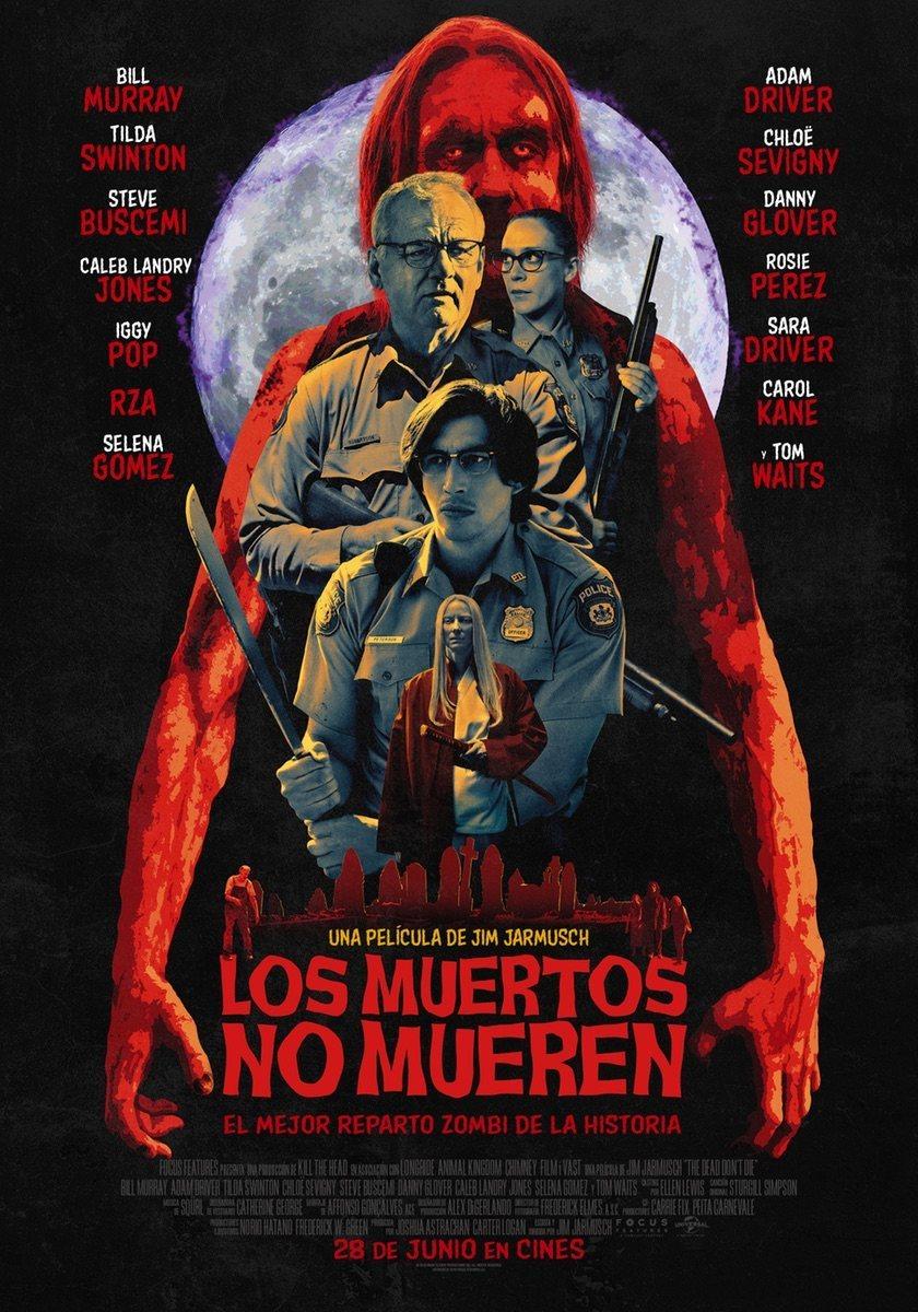 Cinema sota les estrelles: LOS MUERTOS NO MUEREN / 22-07-2021, a les 22 h, a l'Hospitalet de l'Infant