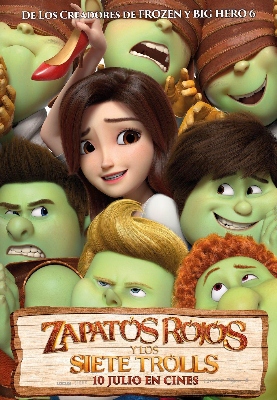 Cinema sota les estrelles: ZAPATOS ROJOS Y LOS SIETE TROLLS / 08-07-2021, a les 22 h, a l'Hospitalet de l'Infant