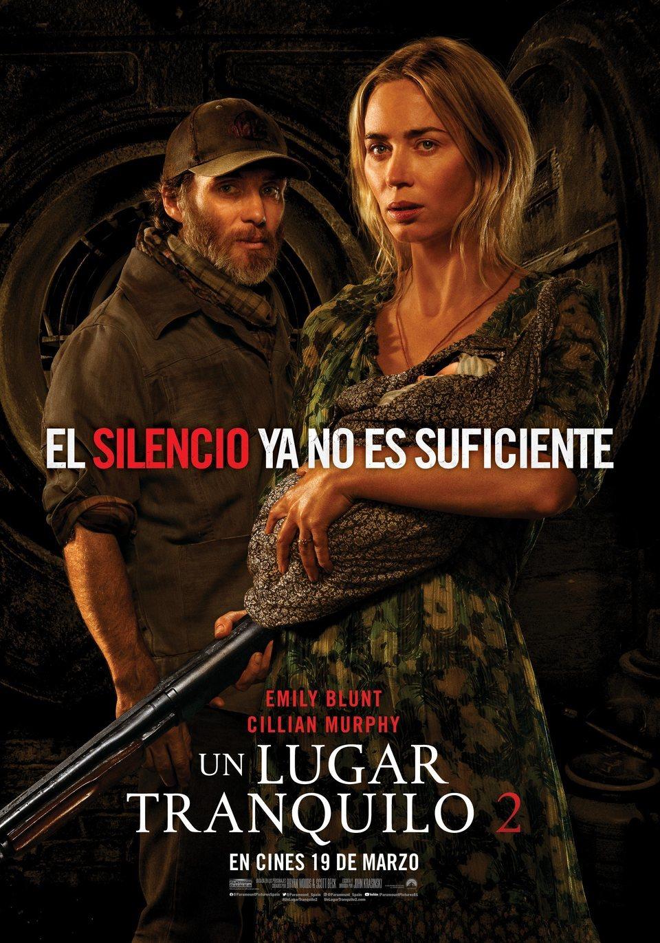 Cinema: Un lugar tranquilo 2 / 05-09-2021, a les 18 h, a l'Hospitalet de l'Infant