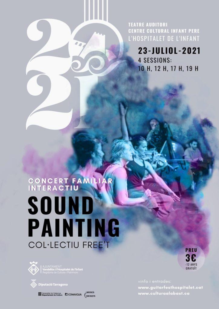 CONCERT FAMILIAR – Soundpainting / 23-07-2021, al Centre Cultural Infant Pere