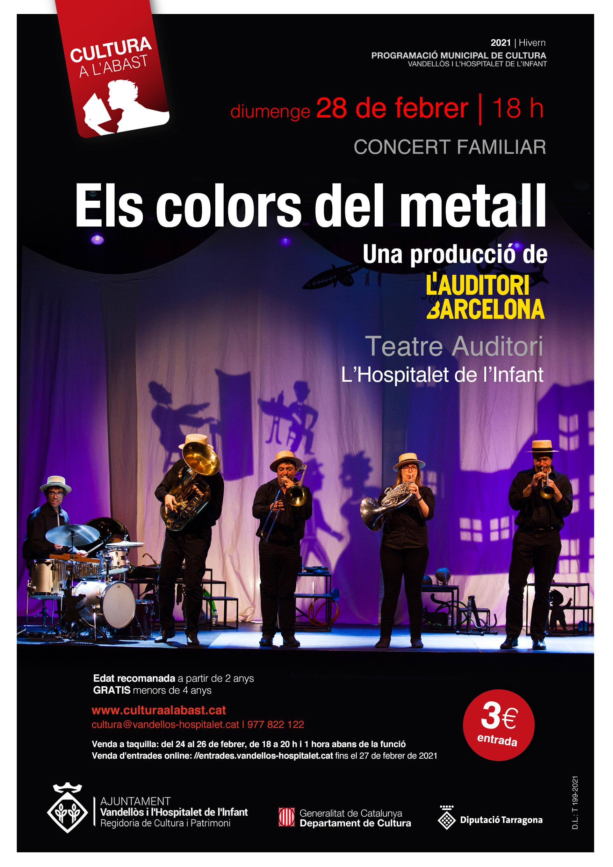 Concert familiar: ELS COLORS DEL METALL