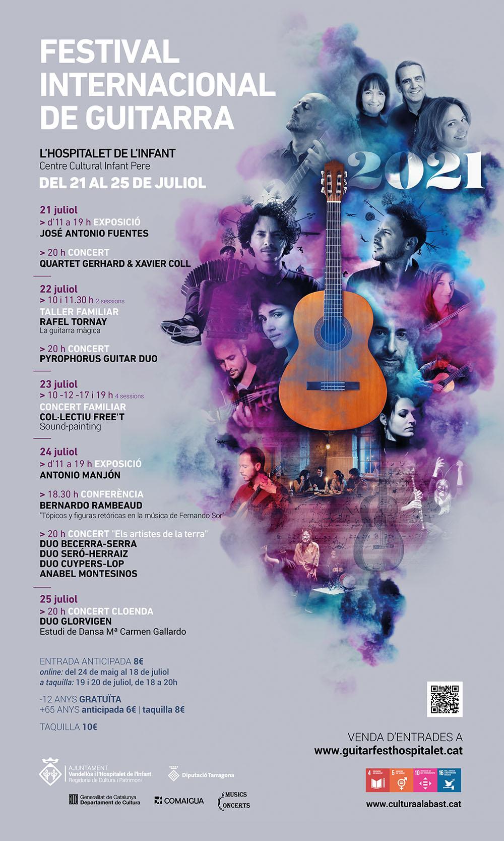 IV Festival Internacional de Guitarra, del 21 al 25 de juliol / Centre Cultural Infant Pere