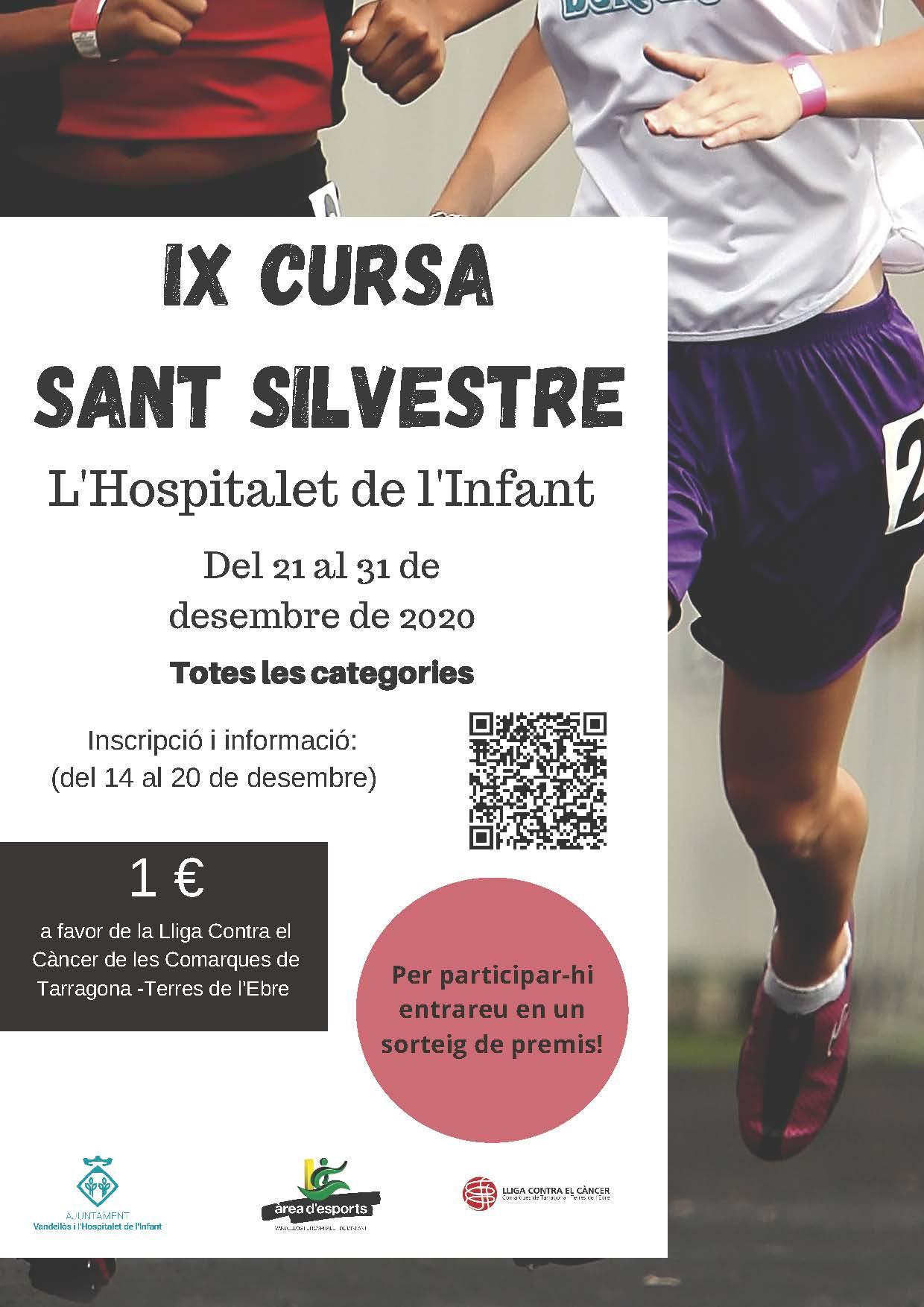 IX Cursa de Sant Silvestre de l'Hospitalet de l'Infant