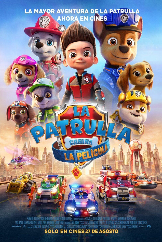 La Patrulla Canina – La película / 24-10-2021, a les 12 h, a l'Hospitalet de l'Infant