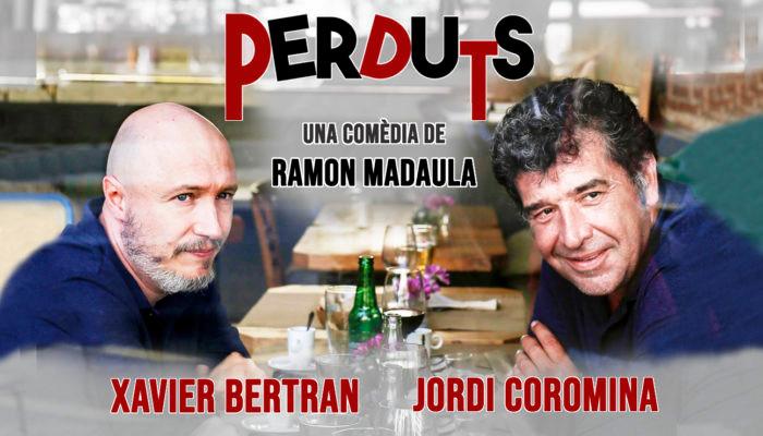 """Obra de teatre: """"PERDUTS"""" de la Companyia Aquitània teatre de Ramón Madaula. Divendres, 14 de maig a les 21:15h."""