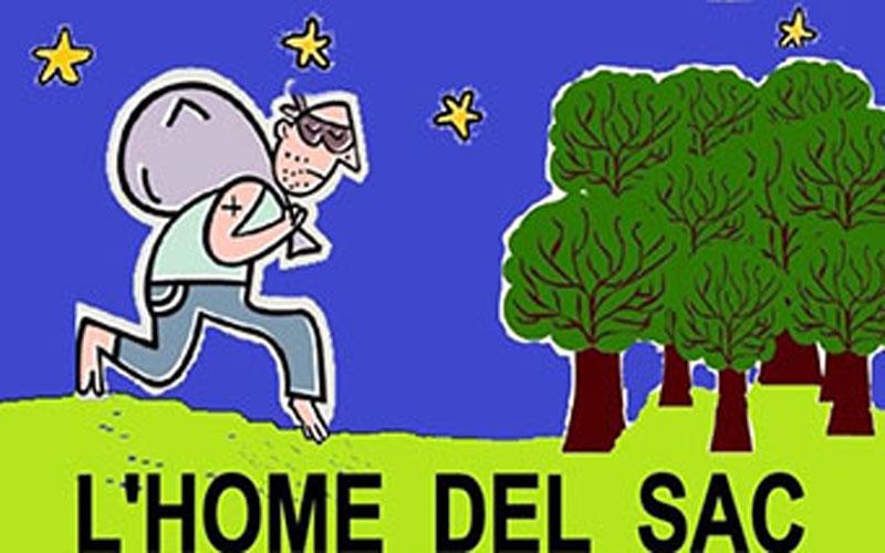 RACÓ DE CONTES – L'home del sac / 15-10-2021, a les 18 h, a Vandellòs
