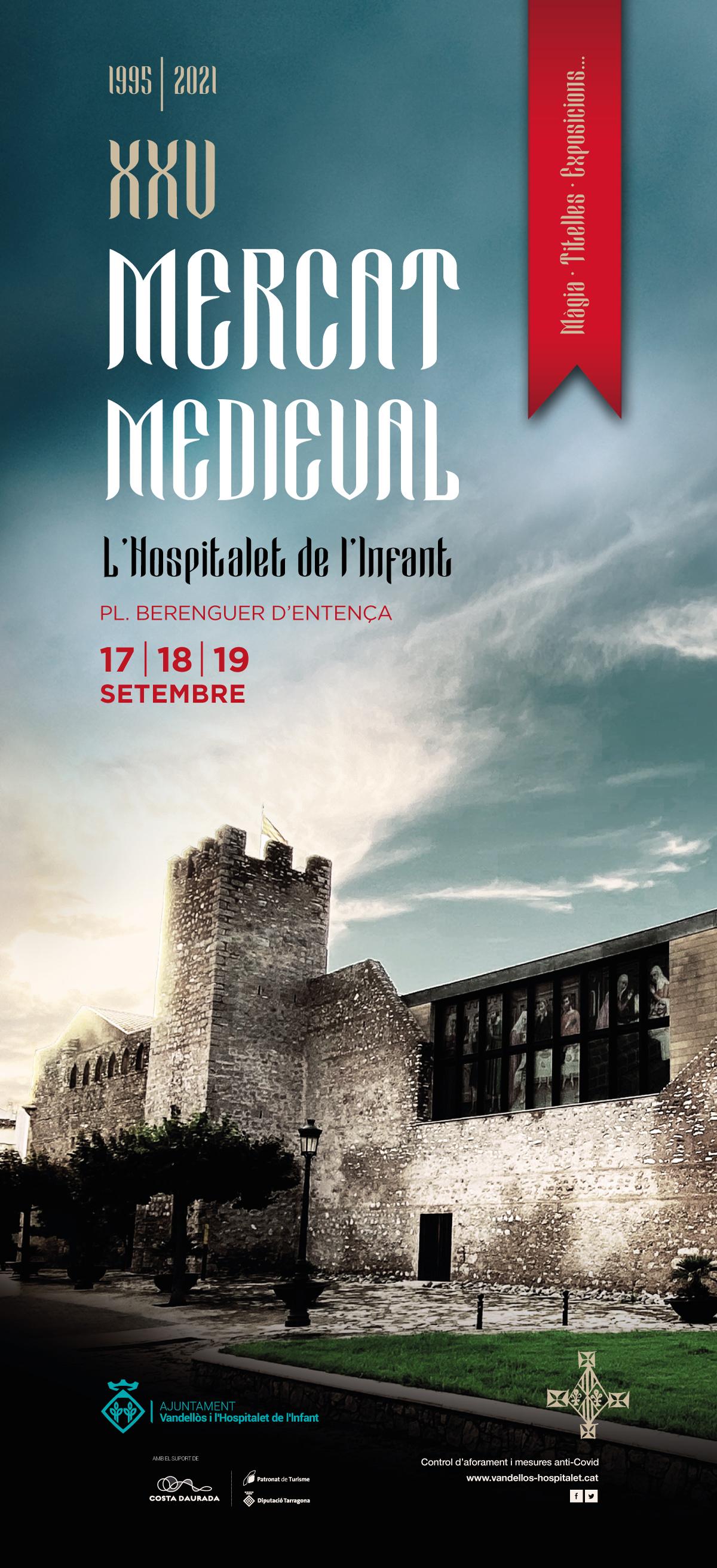 XXV Mercat Medieval, del 17 al 19 de sembre, a l'Hospitalet de l'Infant