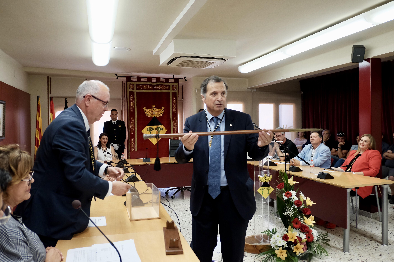 Alfons Garcia és reelegit alcalde de Vandellòs i l'Hospitalet de l'Infant