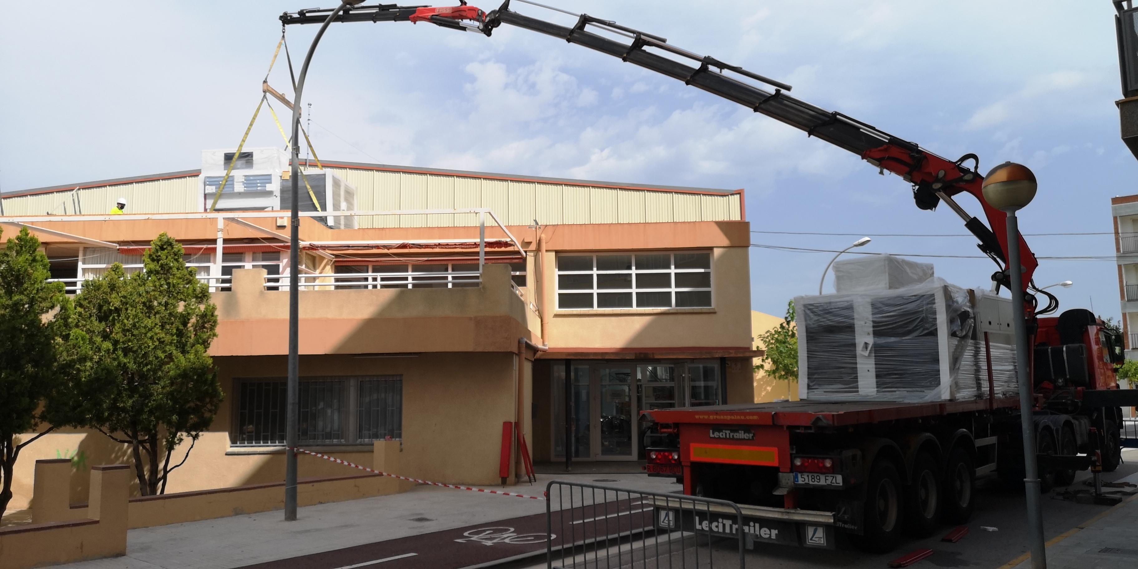 El pavelló esportiu cobert de l'Hospitalet de l'Infant disposarà d'un nou sistema de climatització i ventilació