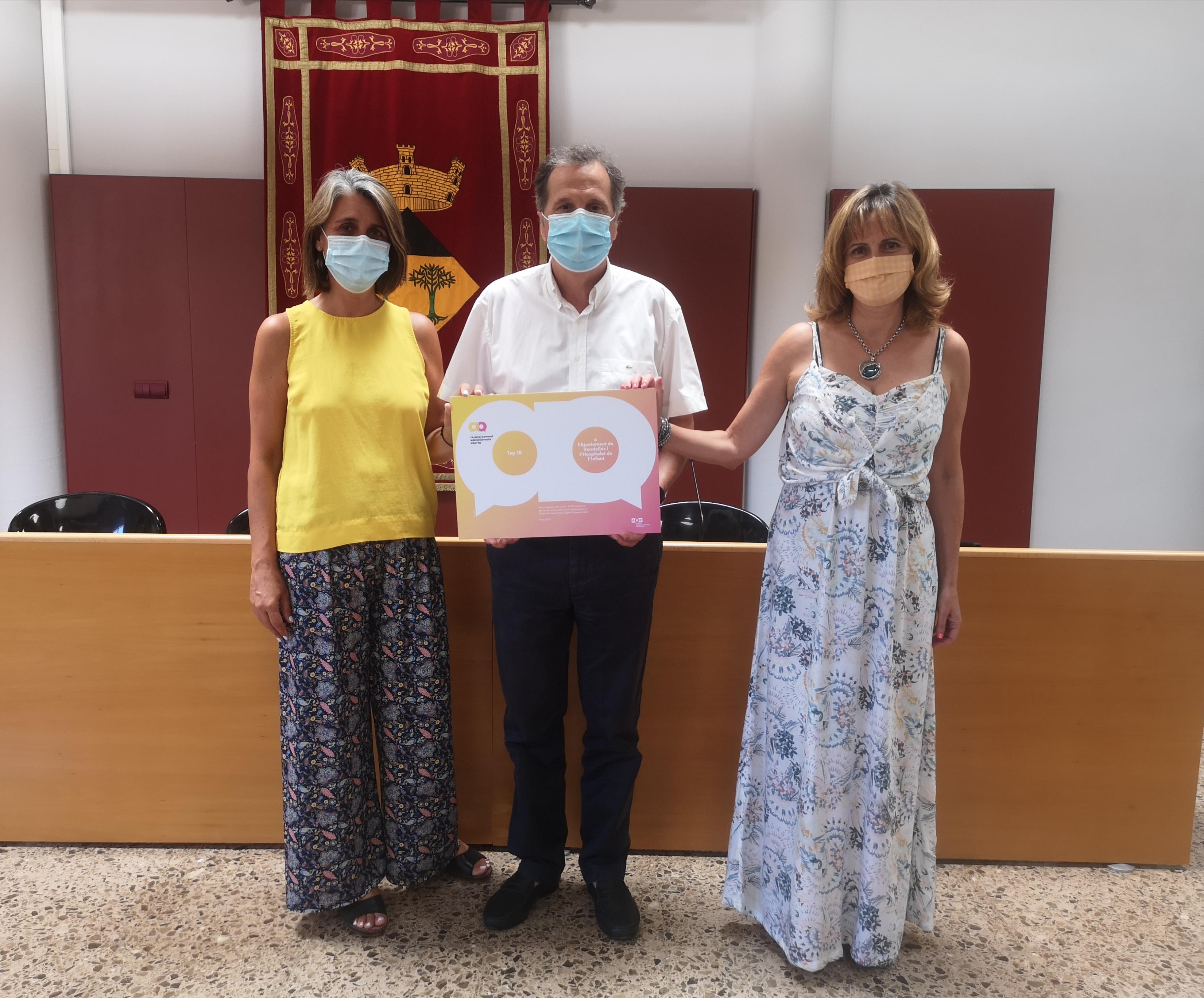 L'Ajuntament de Vandellòs i l'Hospitalet de l'Infant és reconegut per l'Administració Oberta de Catalunya pel seu impuls en la transformació digital