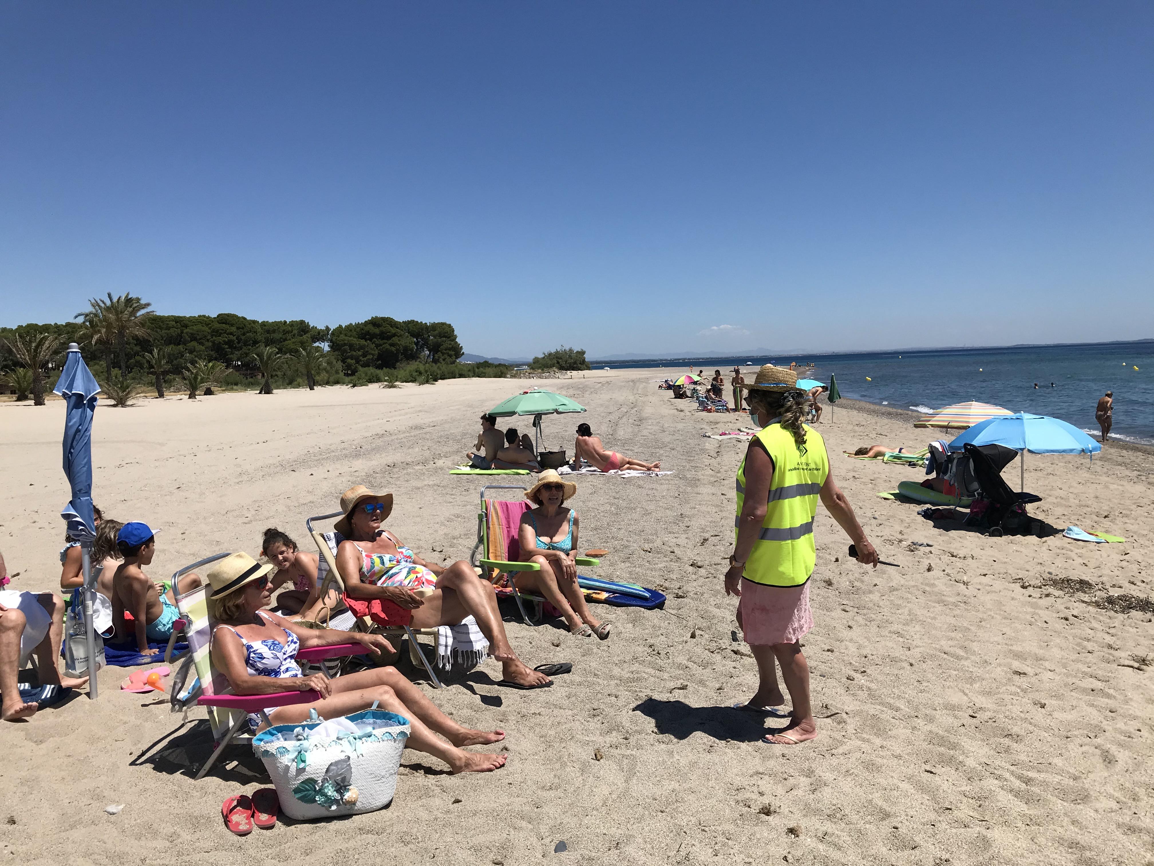 L'Ajuntament de Vandellòs i l'Hospitalet de l'Infant posa en marxa novament el servei dels informadors de platja