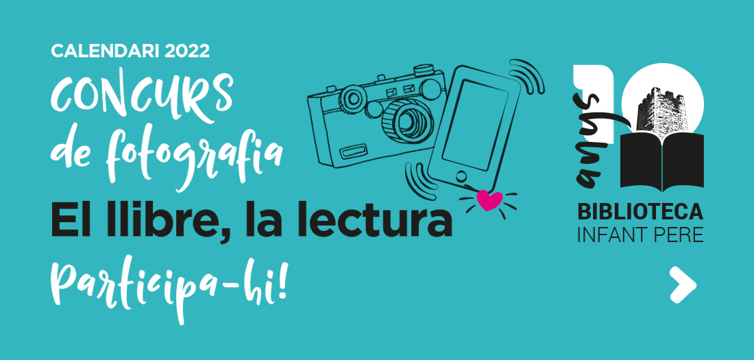 La Biblioteca Infant Pere convoca un concurs de fotografia pel seu 10è aniversari