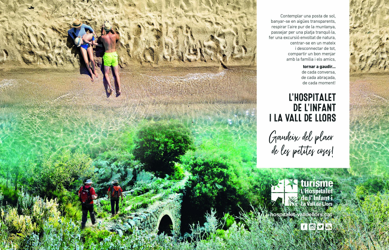 """La campanya de promoció turística de l'Hospitalet de l'Infant i la Vall de Llors anima la gent a gaudir del """"plaer de les petites coses"""" al municipi"""