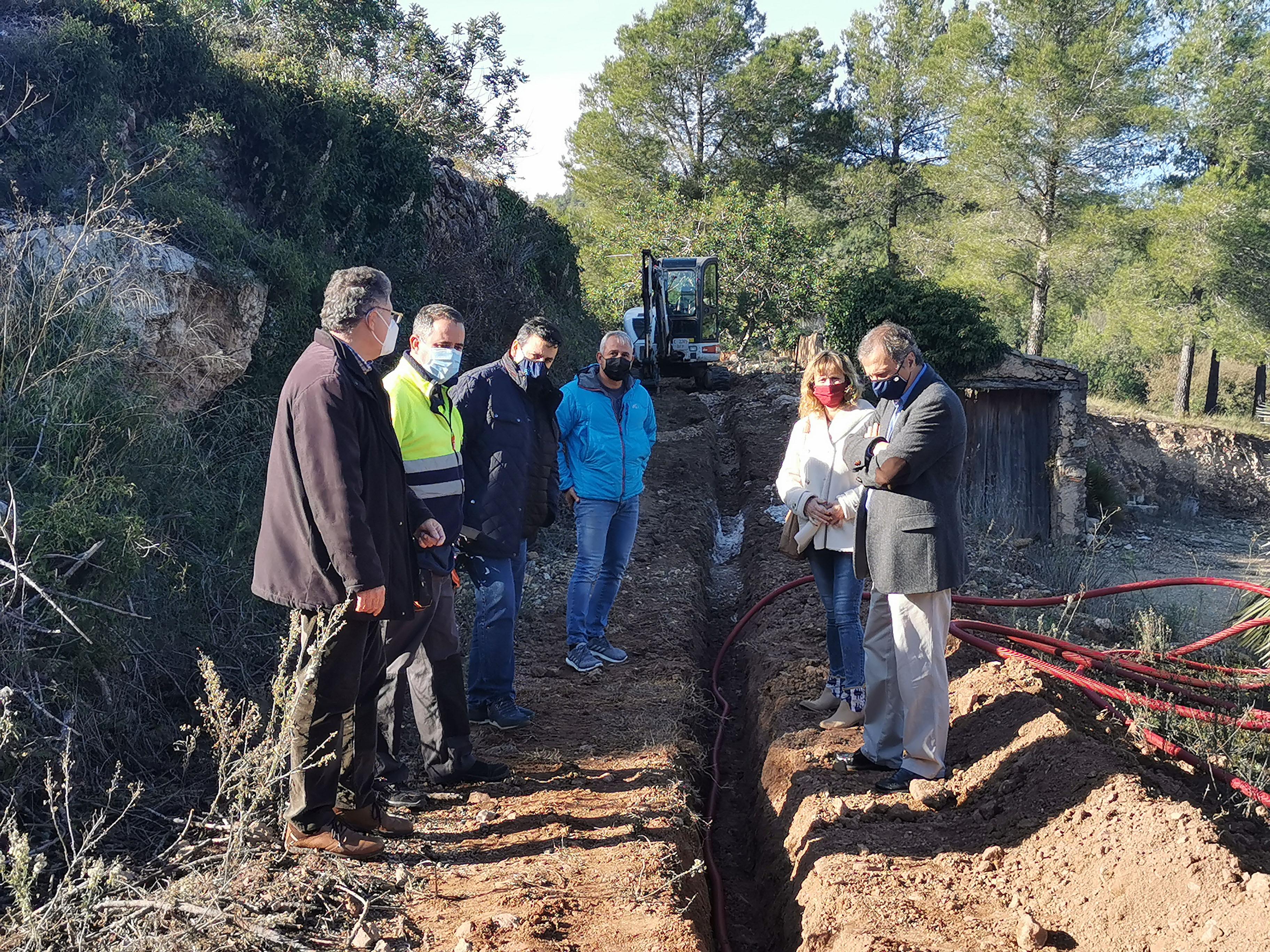 La fibra òptica s'acabarà de desplegar a tot el municipi de Vandellòs i l'Hospitalet de l'Infant l'any 2021