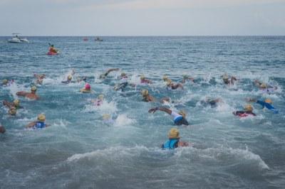 Imatge de la prova de natació