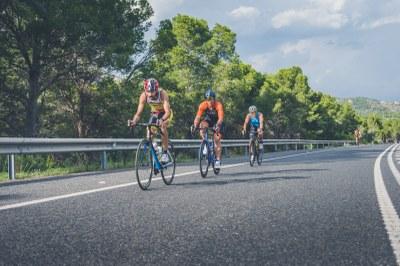 Imatge de la prova de ciclisme