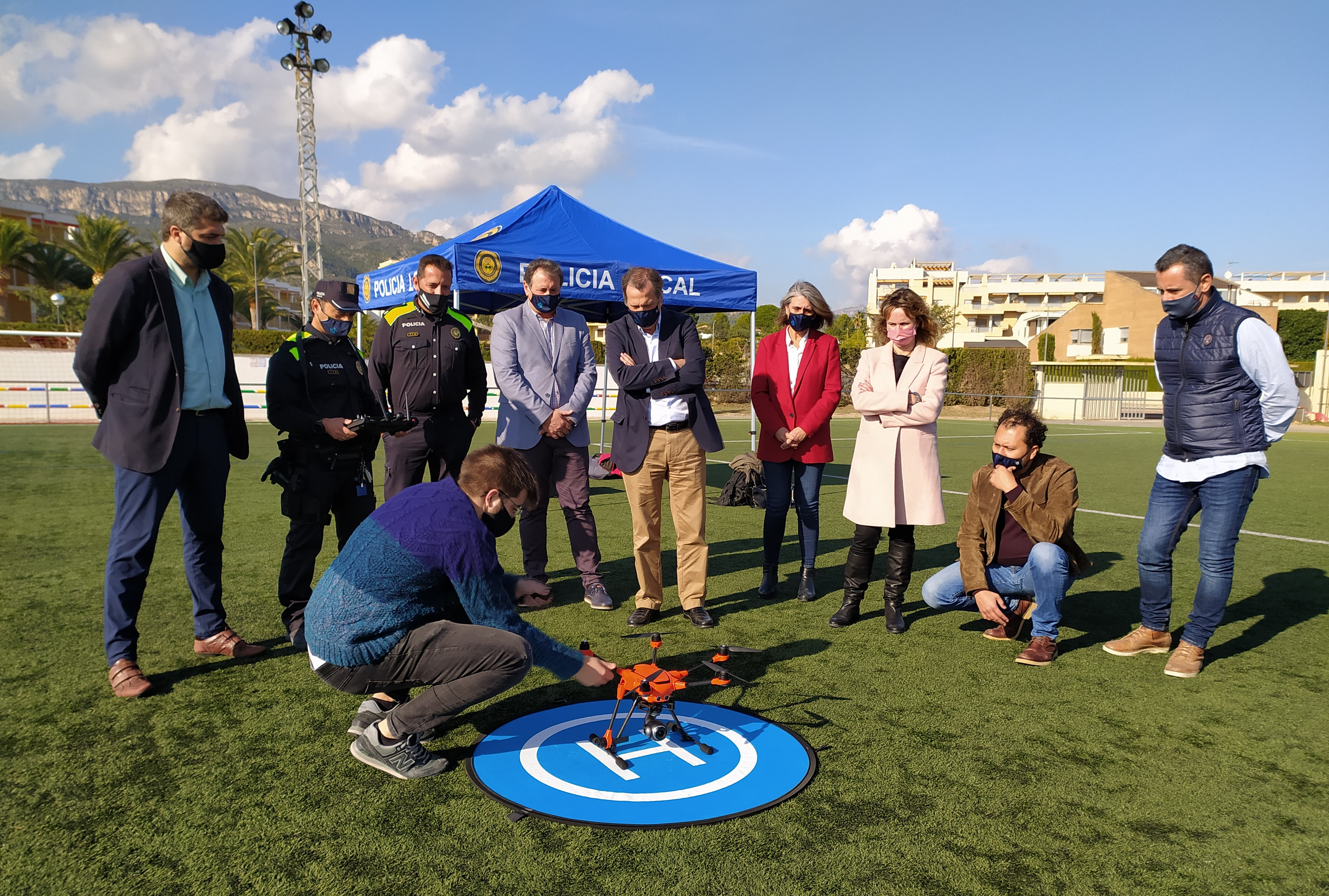 La Policia Local de Vandellòs i l'Hospitalet de l'Infant es dota d'un dron per millorar la seguretat de la ciutadania
