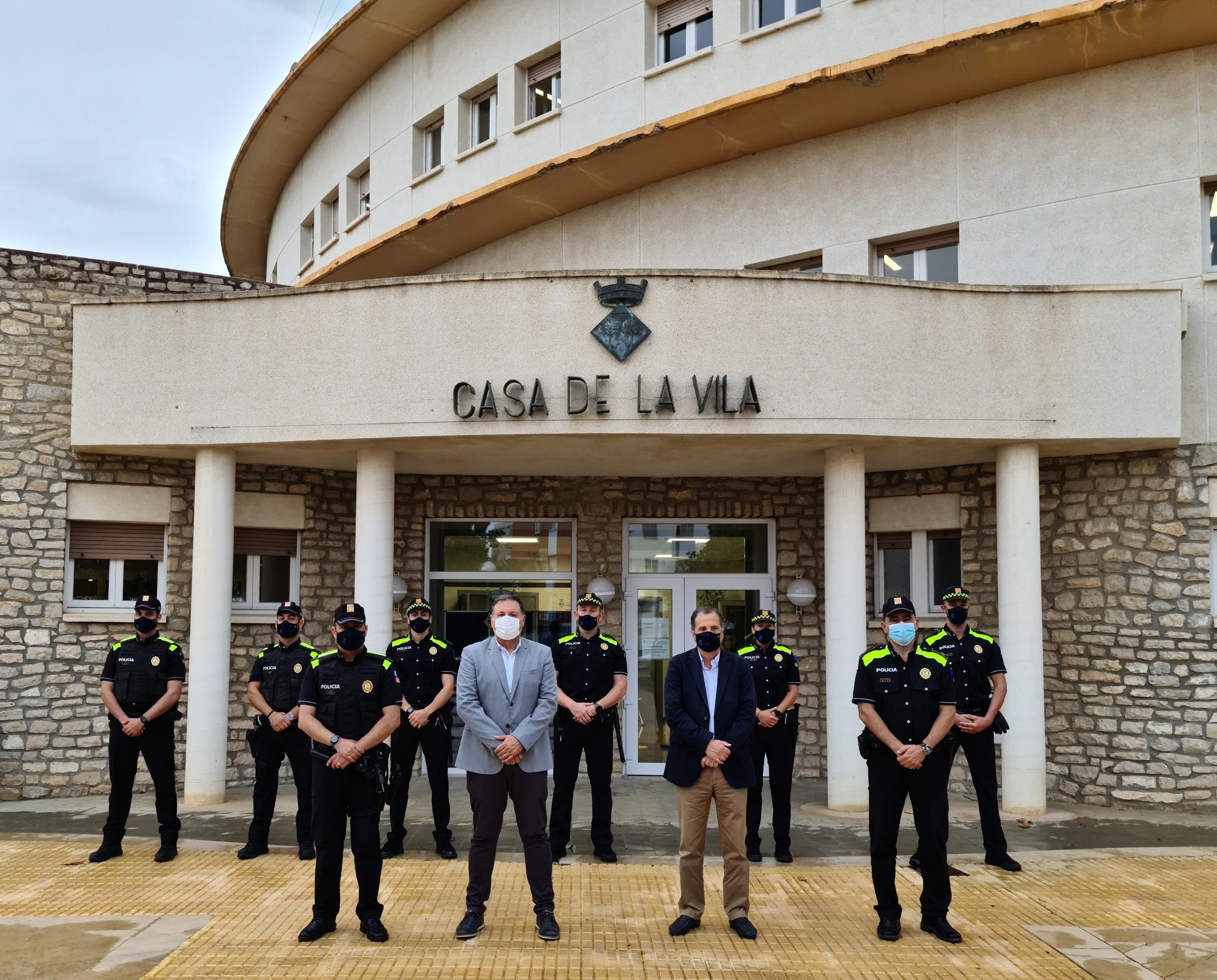 La Policia Local de Vandellòs i l'Hospitalet de l'Infant es reforça aquest estiu amb quatre agents més
