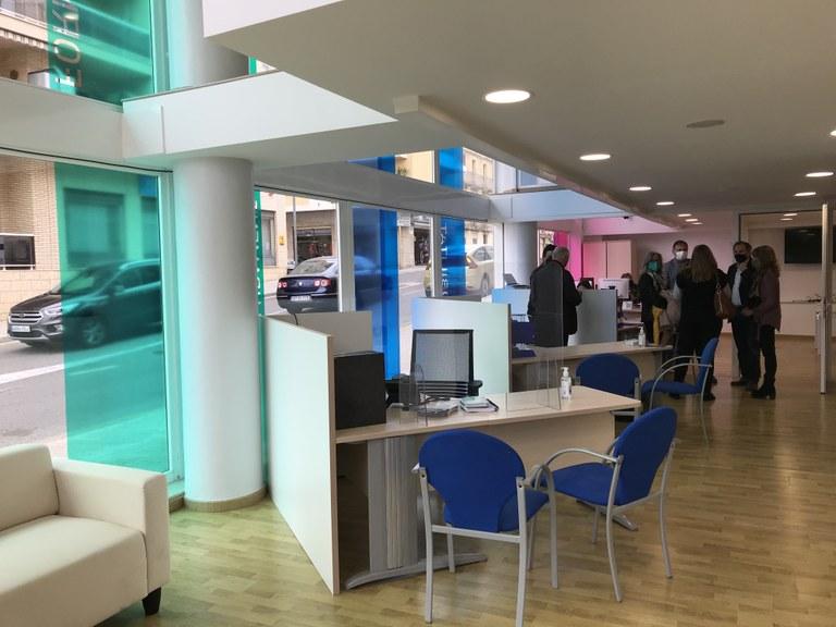 Imatge de la primera planta de la nova seu d'IDETSA