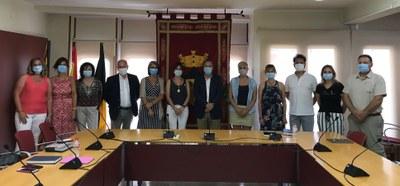 Els membres del consistori que han assistit a la sessió plenària