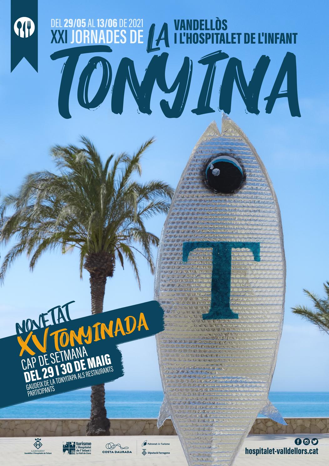 Les XXI Jornades de la tonyina de Vandellòs i l'Hospitalet de l'Infant s'inauguraran els dies 29 i 30 de maig amb una ruta de tapes
