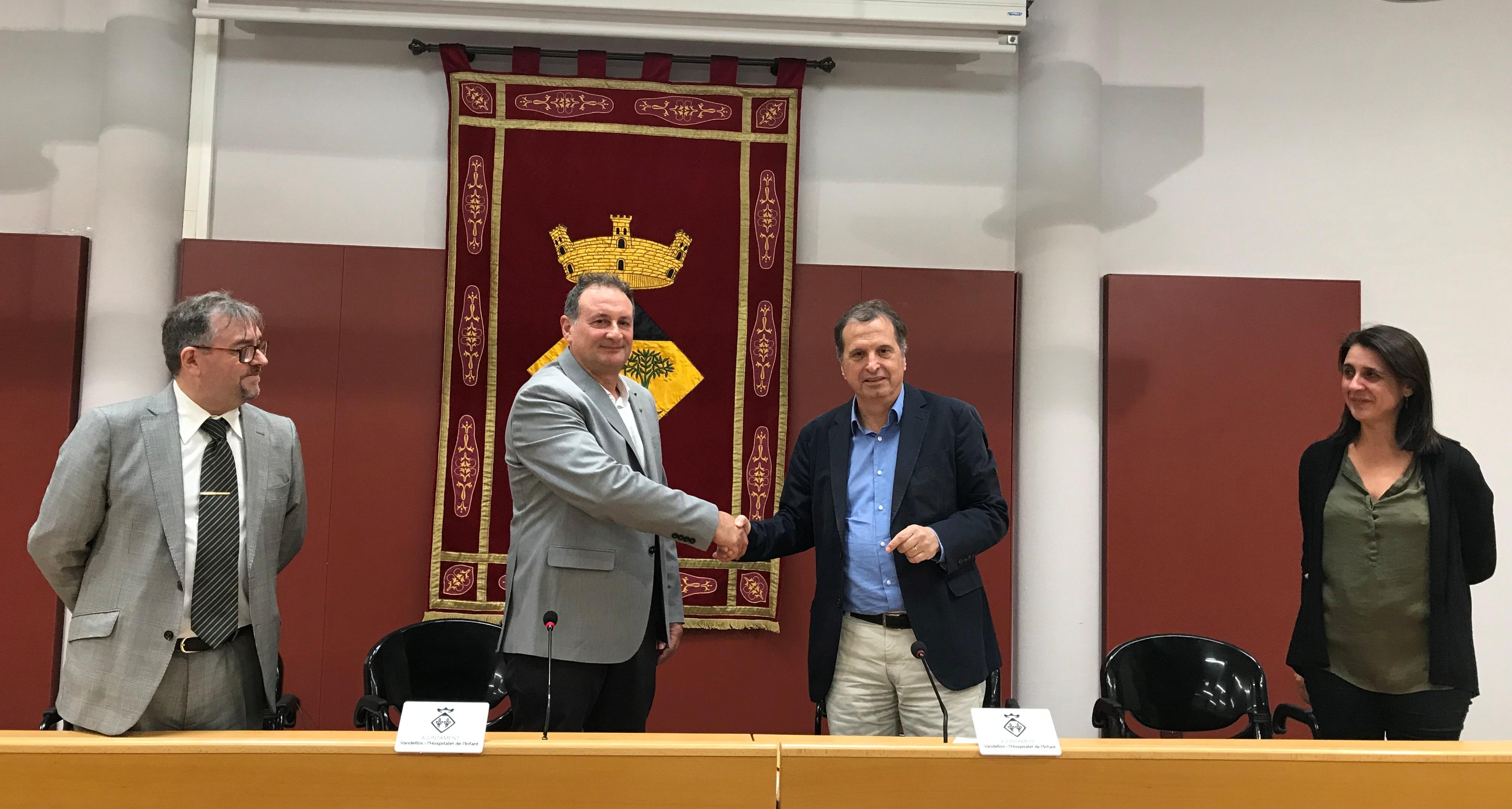 Pacte de govern a l'Ajuntament de Vandellòs i l'Hospitalet de l'Infant