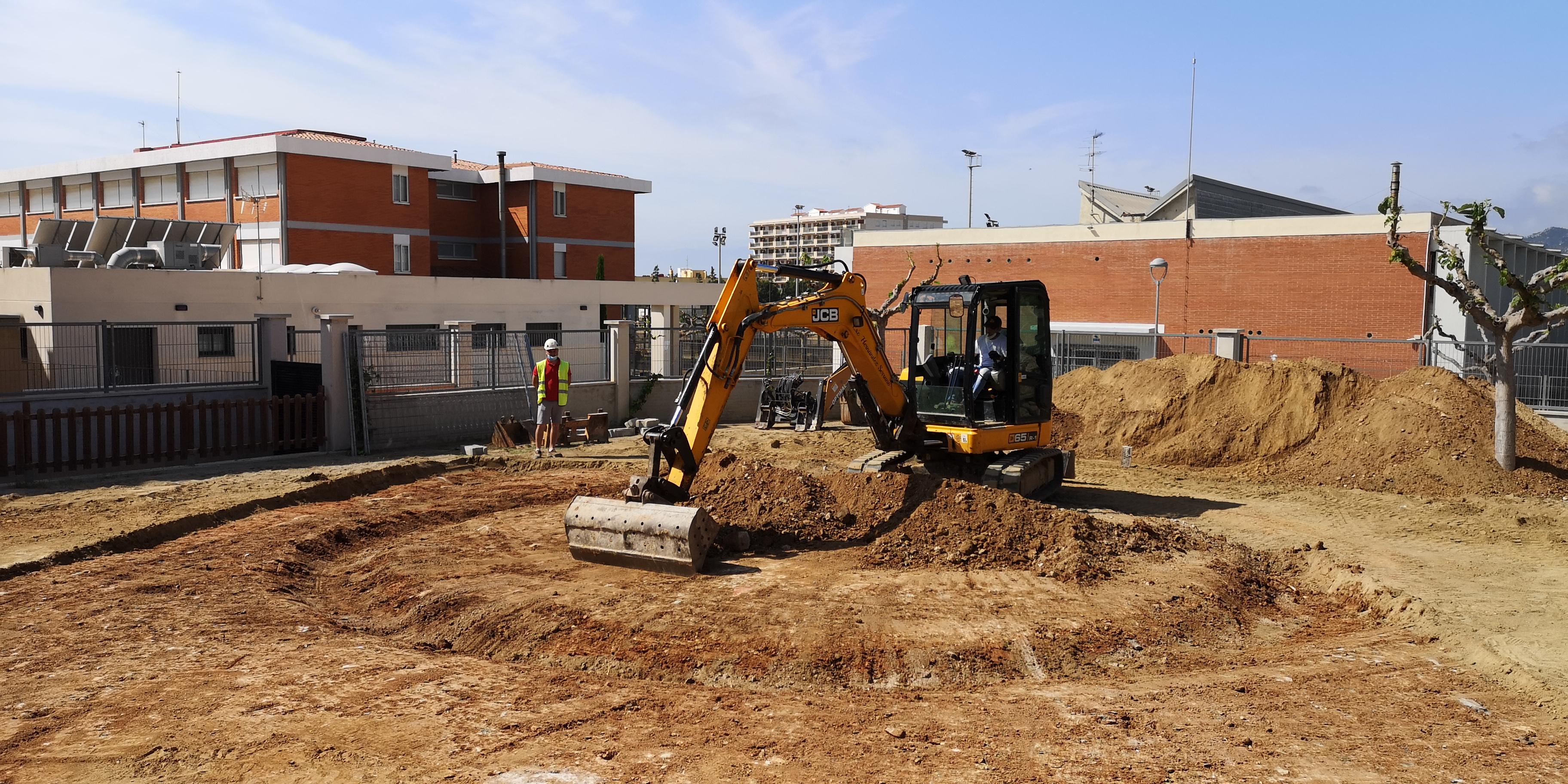 S'inicien les obres d'ampliació de la llar d'infants Sol i Vent de l'Hospitalet de l'Infant