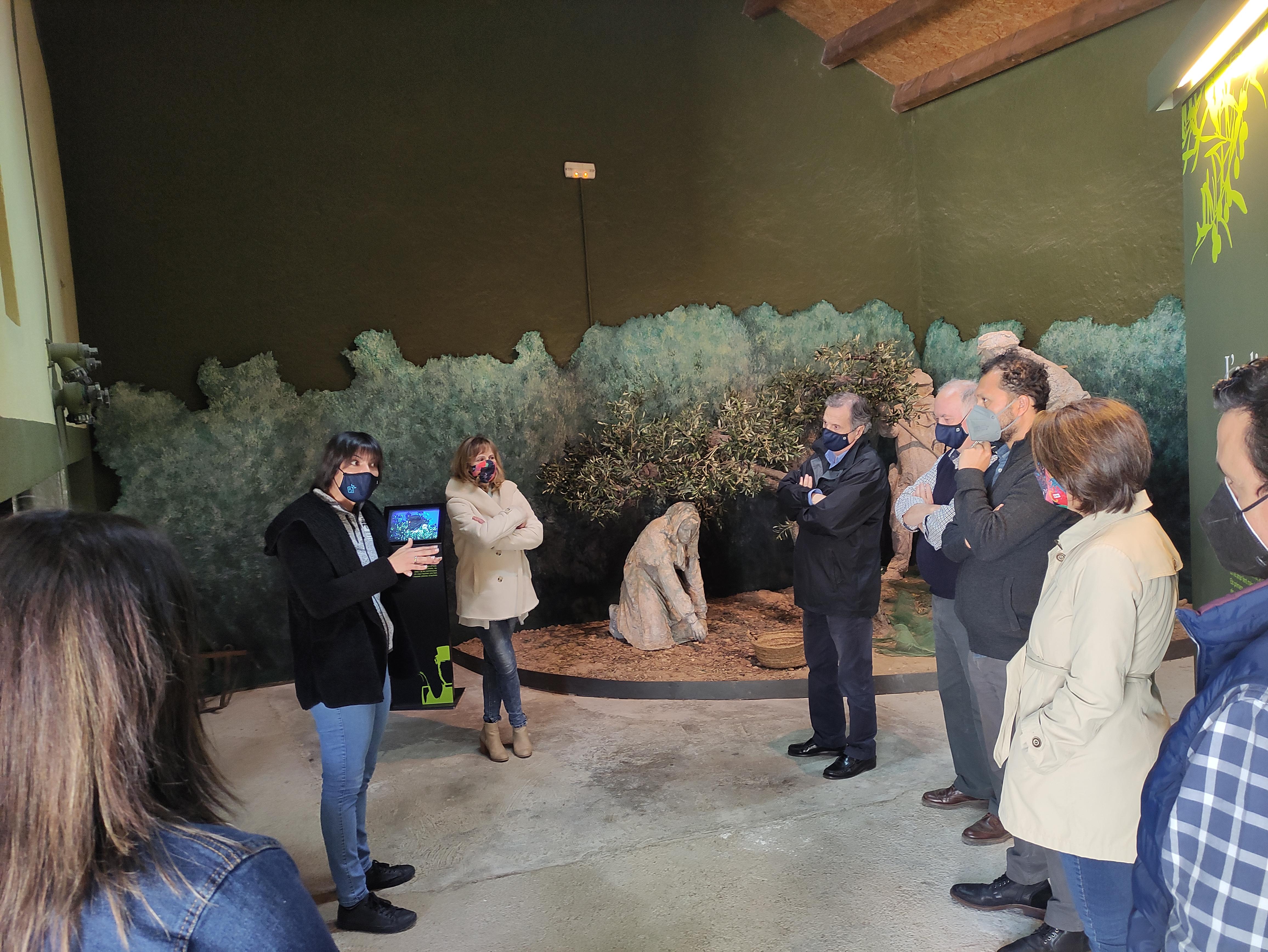 S'obre un nou punt d'atenció turística al molí de l'oli de Vandellòs