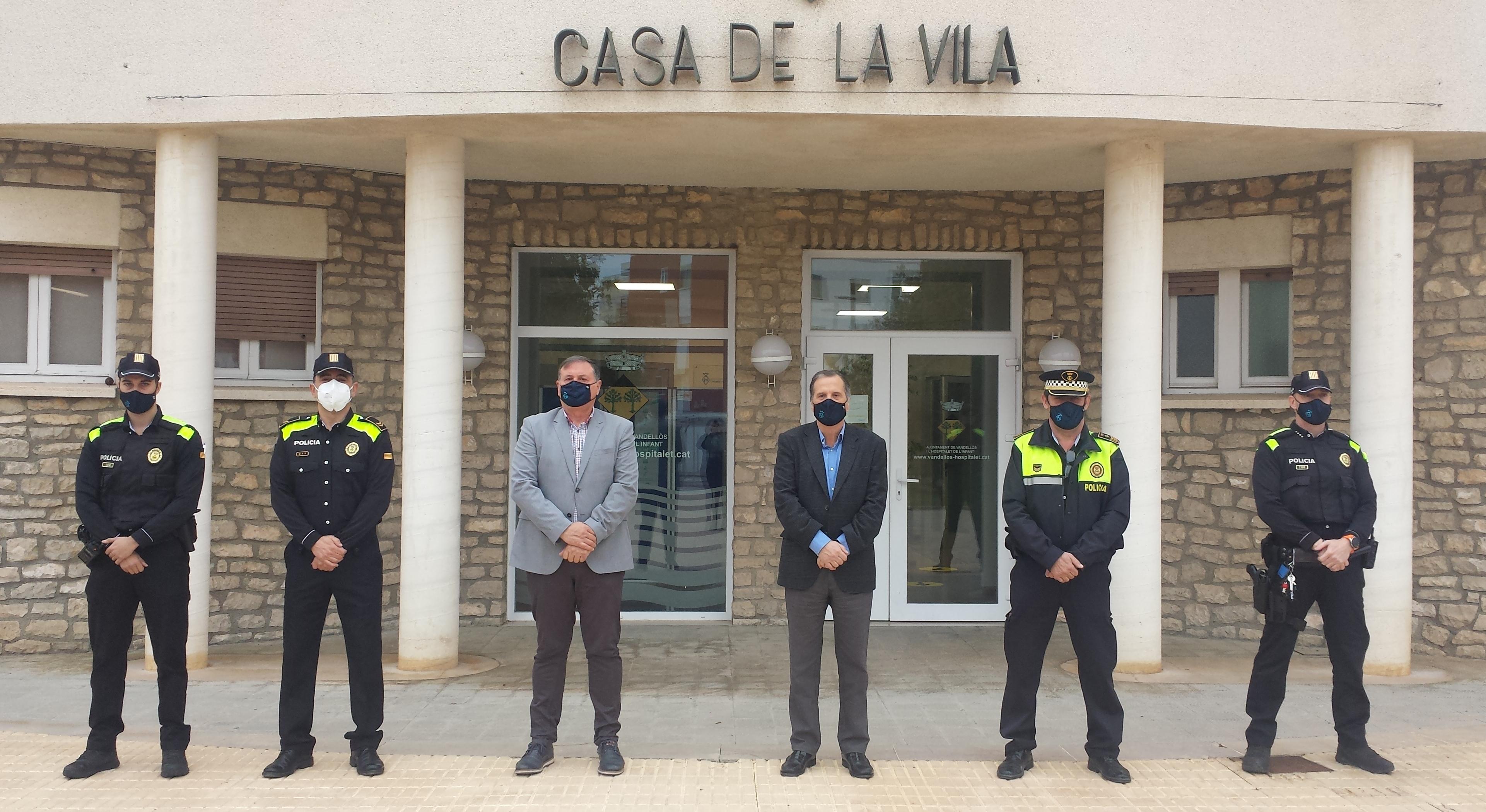 Sergi Navarro ha estat nomenat sergent de la Policia Local