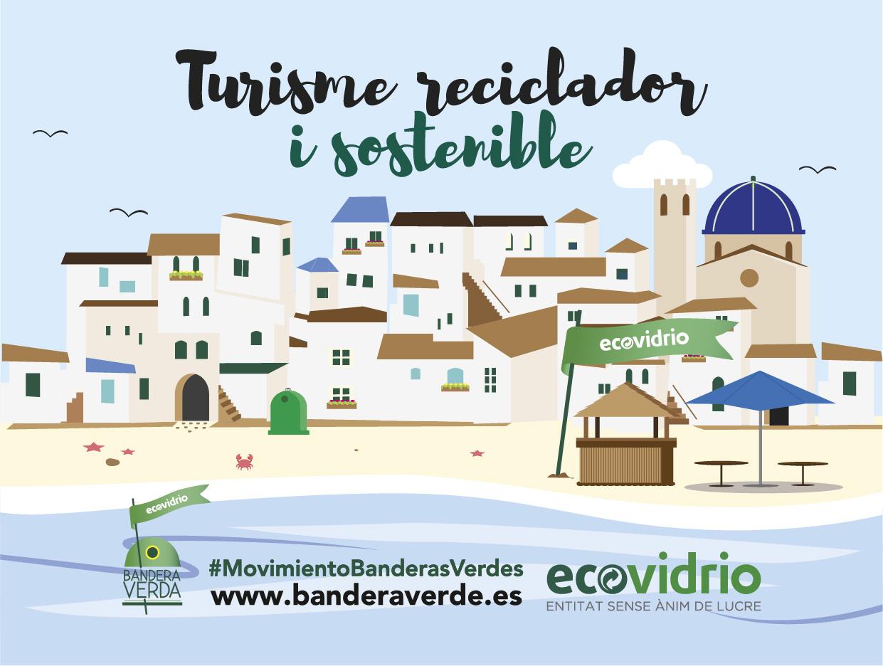 Vandellòs i l'Hospitalet de l'Infant competeix aquest estiu per aconseguir la Bandera Verda d'Ecovidrio