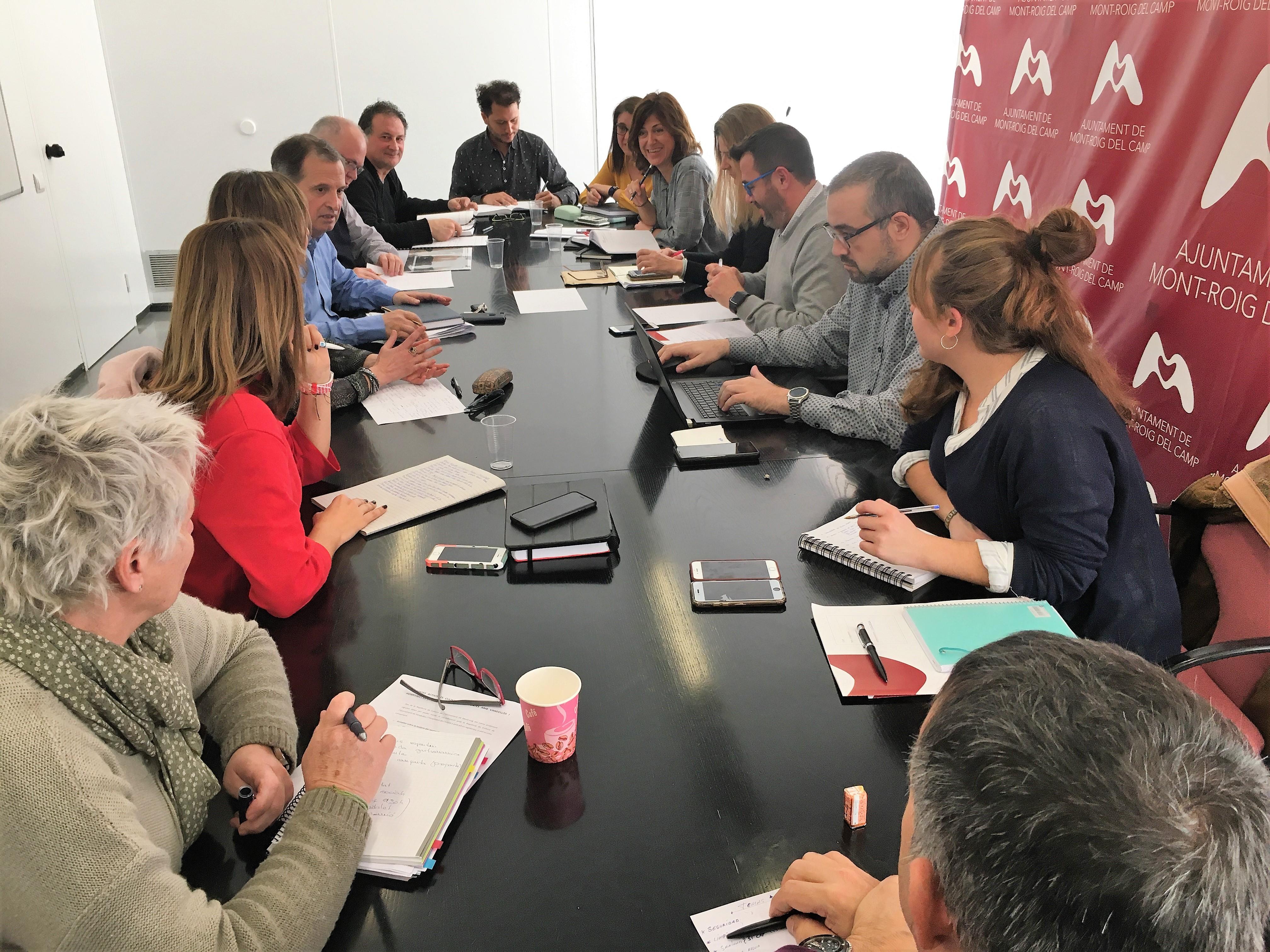 Els ajuntaments de Vandellòs i l'Hospitalet de l'Infant i de Mont-roig del Camp col·laboraran per optimitzar i millorar els serveis públics