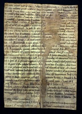 Carta de població de Vandellòs 1191.TIF