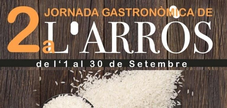 2a Jornada gastronòmica de l'Arròs, de l'1 al 30 de setembre, a l'Hospitalet de l'Infant