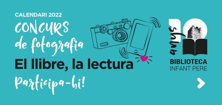 Concurs de fotografia pel 10è aniversari de la Biblioteca Infant Pere