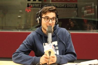 Miquel Botello, un dels conductors del programa