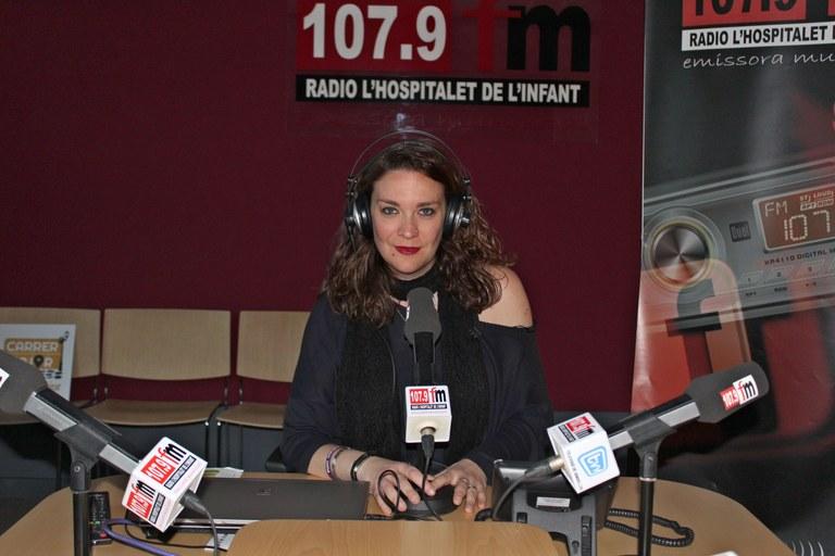 La locutora Silvia Roman