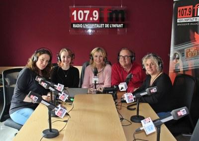 L'equip de Ràdio l'Hospitalet de l'Infant