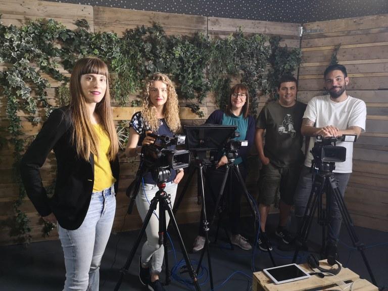-Fotografia de grup de l'equip de la TVV