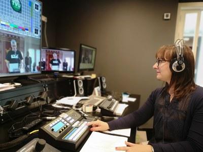 Imatge del treball d'edició de la TVV