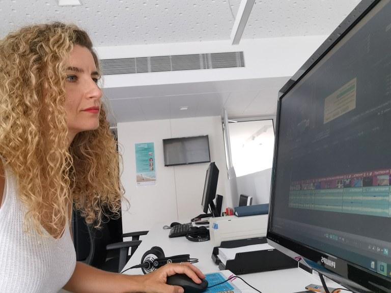 Imatge de la sala de redacció de la TVV