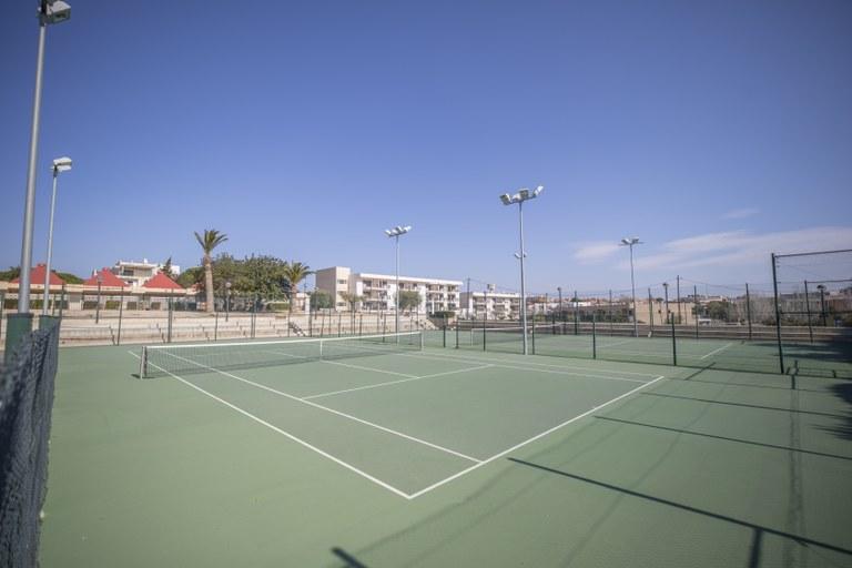 Pistes de tennis